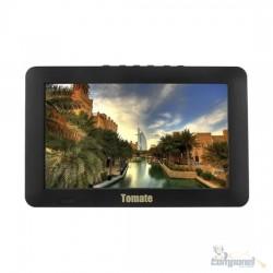 Tv Portatil Led Monitor Tv Digital 9 Pol Micro Sd Com Antena Mtm-909 Tomate